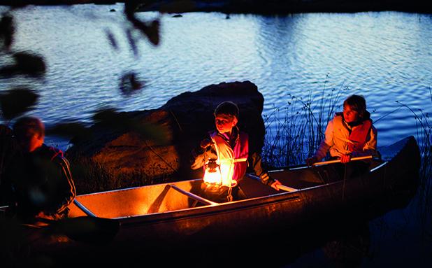 Gåvobevis magiska kanotäventyr
