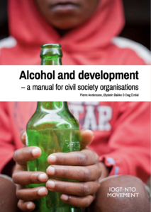 "Omslagsbild ""Alcohol and development"""